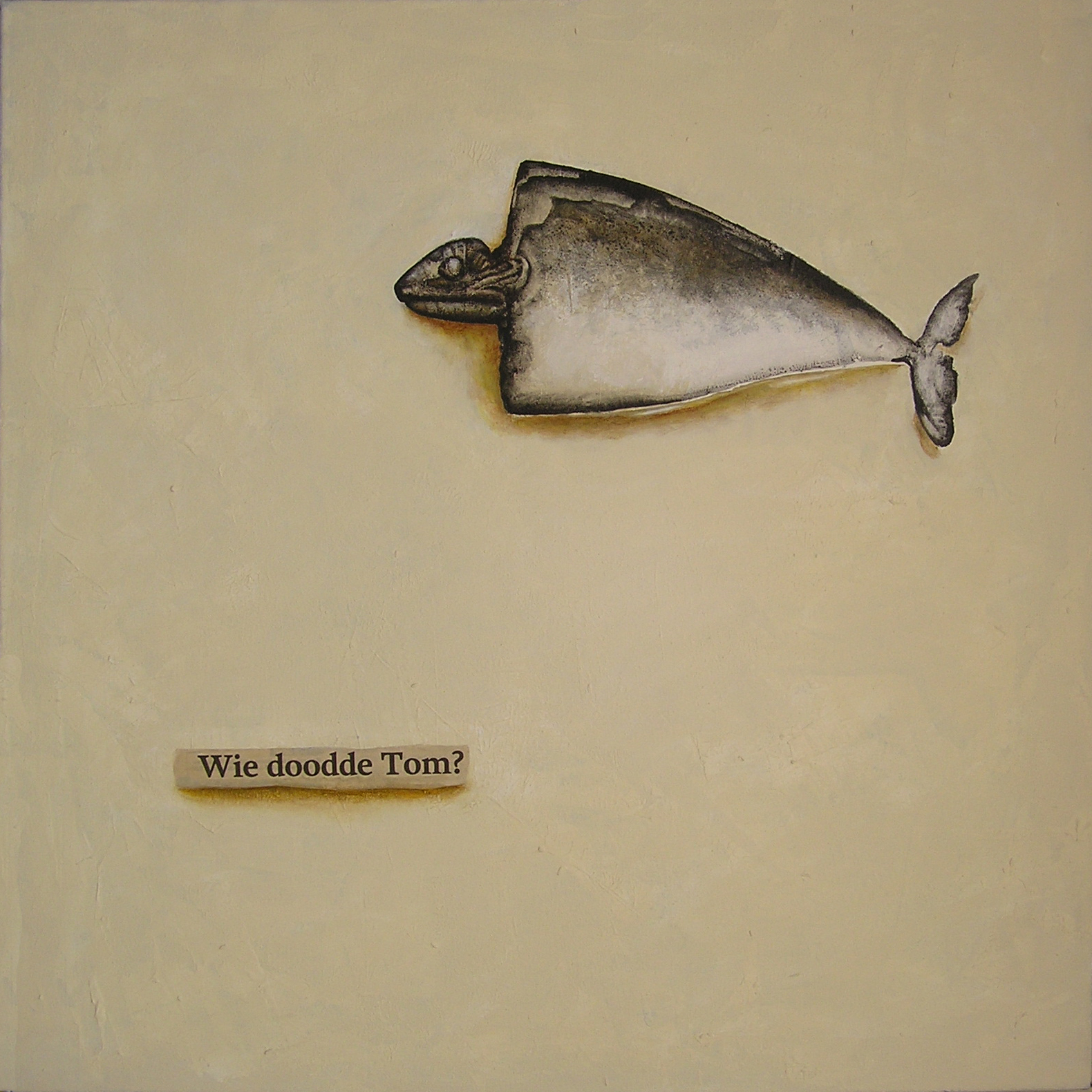 Who killed Tom, 50x50cm, 2014-08-30