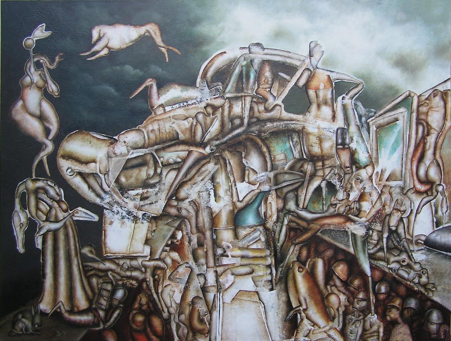 Cataclysm, 80x60, 2016-06-04